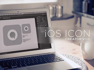 iOS Icon Creator ios icon photoshop action script iphone ipad ipod