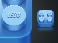 Lego iPhone icon (Rebound)