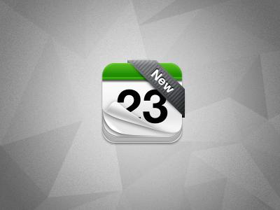 iOS black ribbon PSD psd style freebie layered