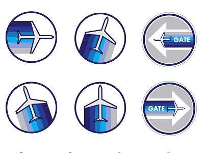 Travel Icons & Graphics design graphic design branding icons illustrator vector art vector