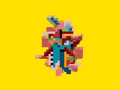 Pixel Smart Icon pixel art pixels logos color study graphics illustration vector icons