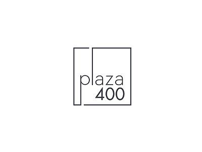 Logo design for Plaza 400 NYC nyc plaza400 graphic design logo design logo