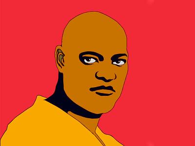 Morpheus portrait morpheus illustrator vector art vector illustration