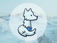 Iceland Stickers - Wolf