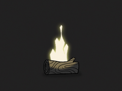 Inktober Day 13 - Ash motion design motion ash flame campfire fire after effects animation 2d