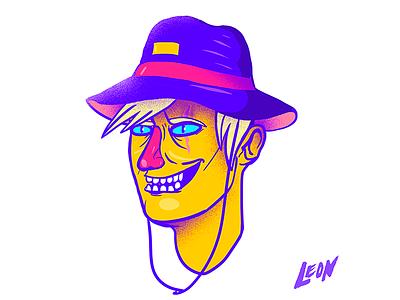 This dude (Character design) cool design trip retro millennials colors art photoshop adobe illustration characterdesign