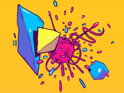 Trip Desgin wacom tablet adobe colors draw illustration design photoshop