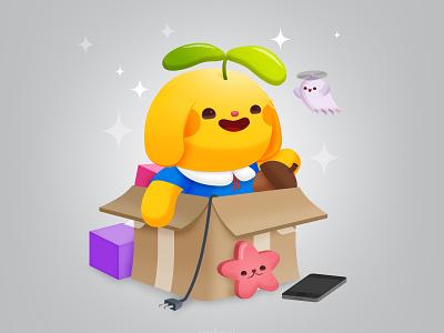 Critters Business kidlitart critter character design illustration vector kawaii cute