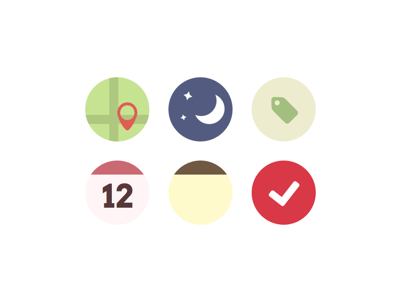 Some Flat Icons freebie icons flat sketch