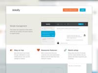 Ticksify Landing Page