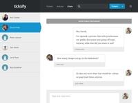 Chats - Ticksify Admin