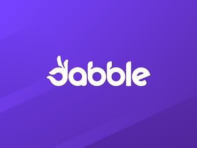 Dabble Visual Identity app ui ios gambling punting betting social social media sports sport brand logo