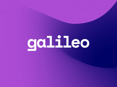 Galileo Ventures Brand Identity finance vc purple brand logodesign logo visual identity branding