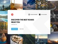 RoadHuntr Landing Page