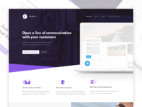 Feedline Landing Page