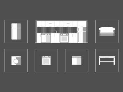 Icons: Furnitures