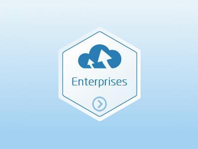 Enterprise Icon icon flat