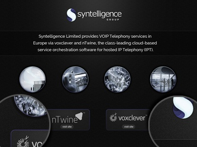 Tech Holding Company website homepage textures