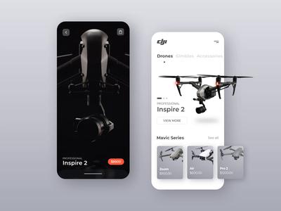 DJI Drone Store App