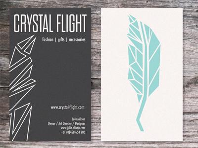 Crystal flight cards