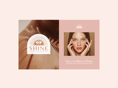 Shine Intuitive Beauty | Branding design adobe illustrator logo branding graphic design
