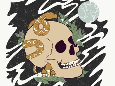 Tarot Illustration: Death