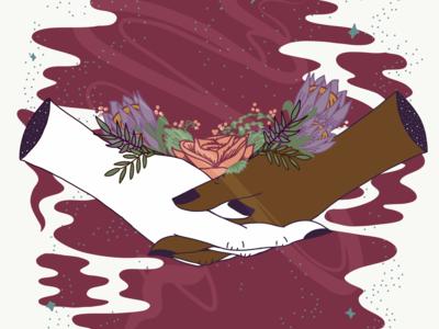 The Lovers | Tarot Ilustration