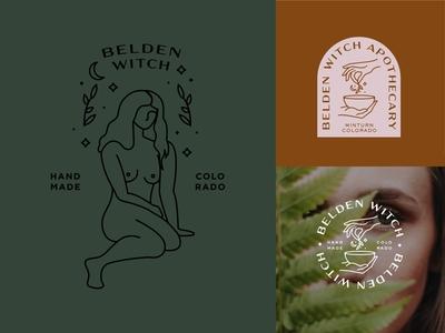 Belden Witch Logo Concepts