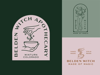Belden Witch Apothecary Design