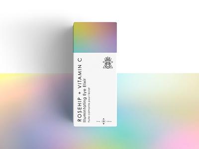 Skincare Packaging branding layout print design color packaging design packaging holographic