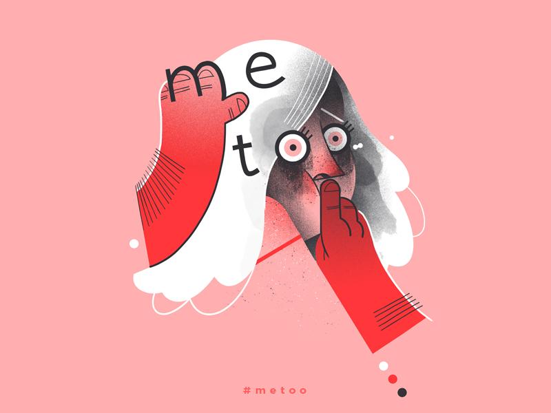 Metoo metoo dudzik iza dewizka woman illustration
