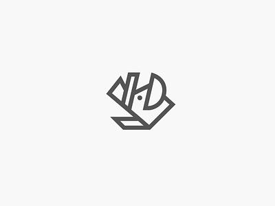 Boar Logo I D personal branding dudzik iza boar logo