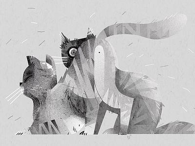 My cats | illustration webside dudzik iza top www webside illustration