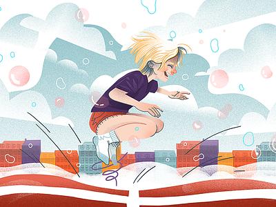 Danish Children polish dudzik iza illustration