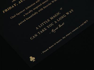 Custom Event Invitation Suite Design