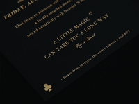 Custom Event Invitation Suite Design