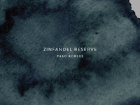 Zinfandel Reserve Label Design