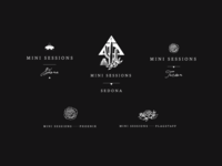 Jamie Allio Mini Session Illustrative Logos