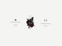 Brand Identity Submarks: Jamie Allio