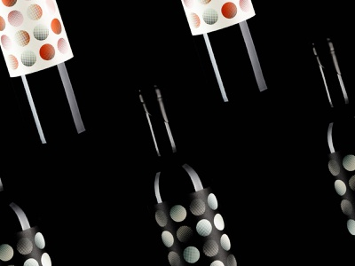 Wine Label Design – LEVO SPOT v. 2016 wine labels label identity winery package print product photography pop art polka dots packagedesign package designer packaging iridescent foil california wine label design wine label branding