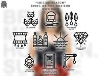 Bring Me The Horizon - Suicide Season (Icon Pack)