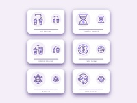 Customer Relationship Management Icon Pack