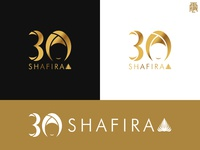 Shafira 30th Anniversary Logo Concept