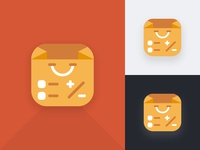 Budgeting App Icon Launcher Concept