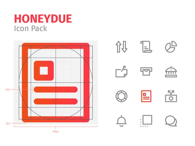 Honeydue Icon Pack
