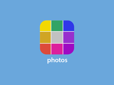 iOS 7 Photos App Icon