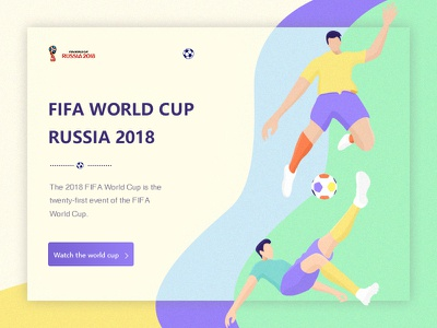 World Cup color,team goal win match russia football world cup illustration