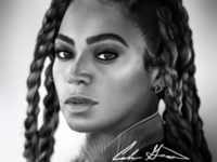 Beyonce Digital Painting