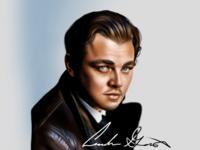 Leonardo Dicaprio Digital Painting
