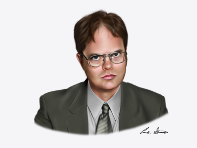 Dwight Schrute Digital Painting